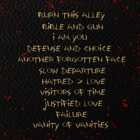 """Back cover of """"Scripture Codes Summon Suicidal Thoughts"""""""