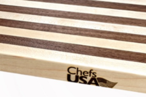 Maple and Walnut Butcher Block Cutting Board