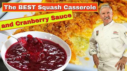 thumbnail squash casserole and cranberry