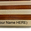 Thumbnail: Personalized Maple and Walnut Cutting Board