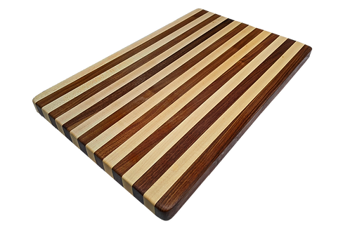 Personalized Maple and Walnut Cutting Board
