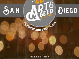 Art & Beer Night Market: FREE