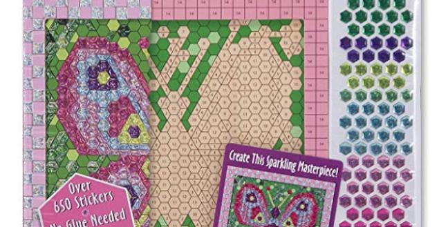 Butterfly Mosaic Sticker Kit