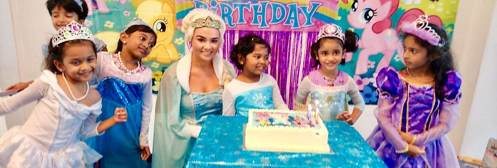 Surprise Princess Party