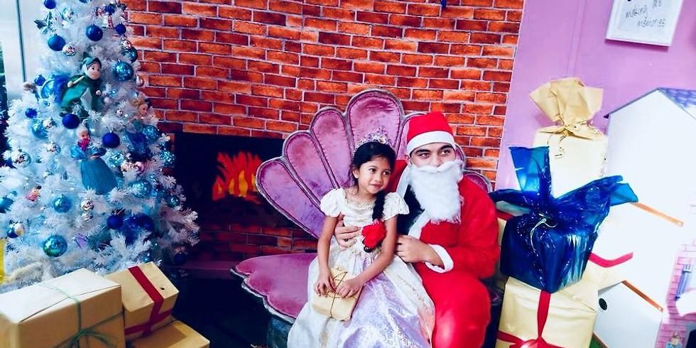 Secret Wish Santa - Makeover & Photo Taking with Santa - Free
