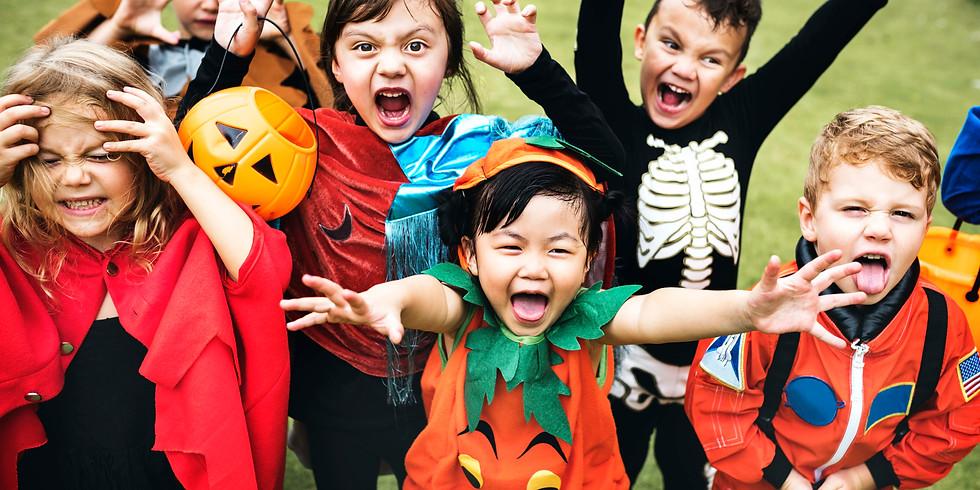 A Spooky Zoomy Halloween Party