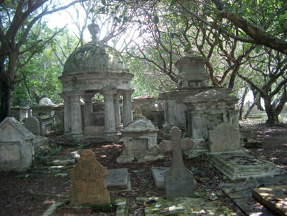 Colonial cemetery, Penang, Malaysia