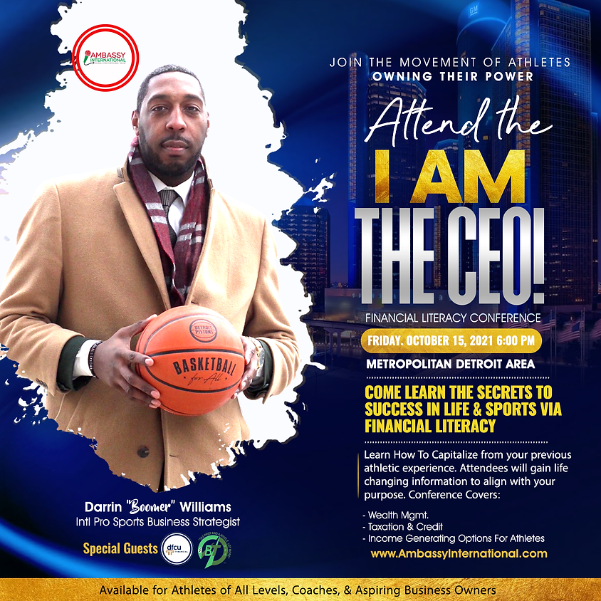 I Am The CEO! Financial Literacy Conference