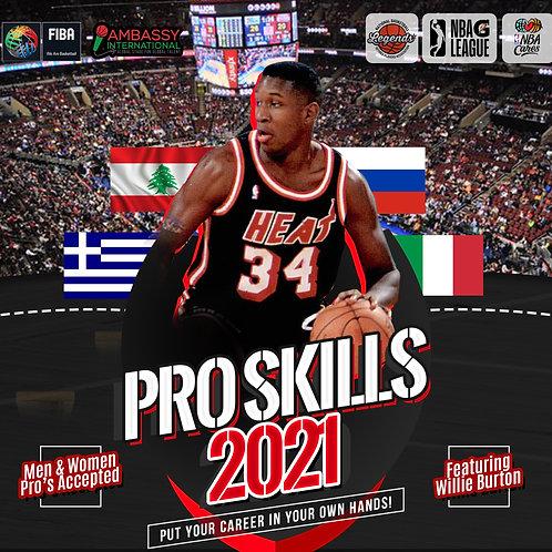 [Deposit] Pro Skills Clinic: 2021 ft. Willie Burton
