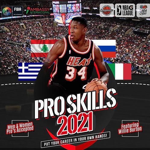 [V.I.P] Pro Skills Clinic: 2021 ft. Willie Burton