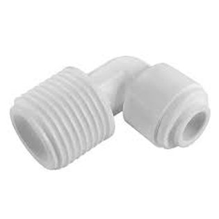 "1/4"" Tube x 3/8 NPTF  Elbow Connector"