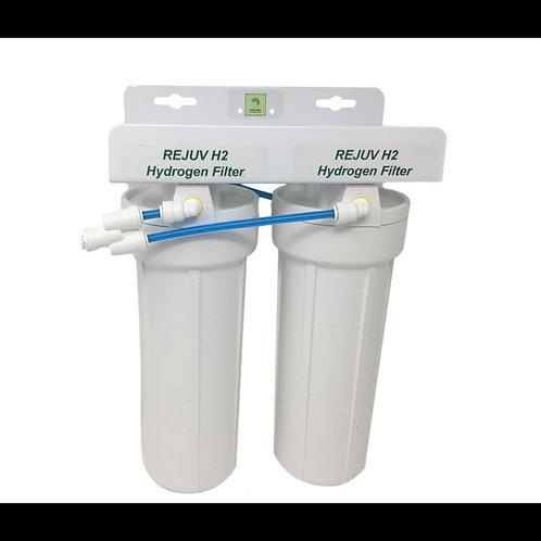 Dual Alkaline Hydrogen Water Filter with REJUV H2