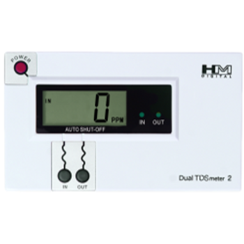 HM Digital DM-2 Commercial Dual Channel TDS/Temperature Monitor