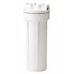 """10"""" Pentek 158114 SlimLine Filter Housing (White/White, No PR)"""