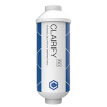 "Antimicrobial Water Filter - Claire Quantum Disinfection (2""x6"")"