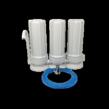 Triple Stage Countertop UltraPure Alkaline Antioxidant Drinking Water System