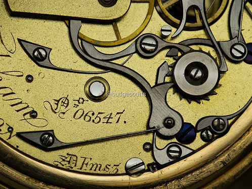 CHARLES FRODSHAM POCKET WATCH WITH CHRONOGRAPH (C-type)