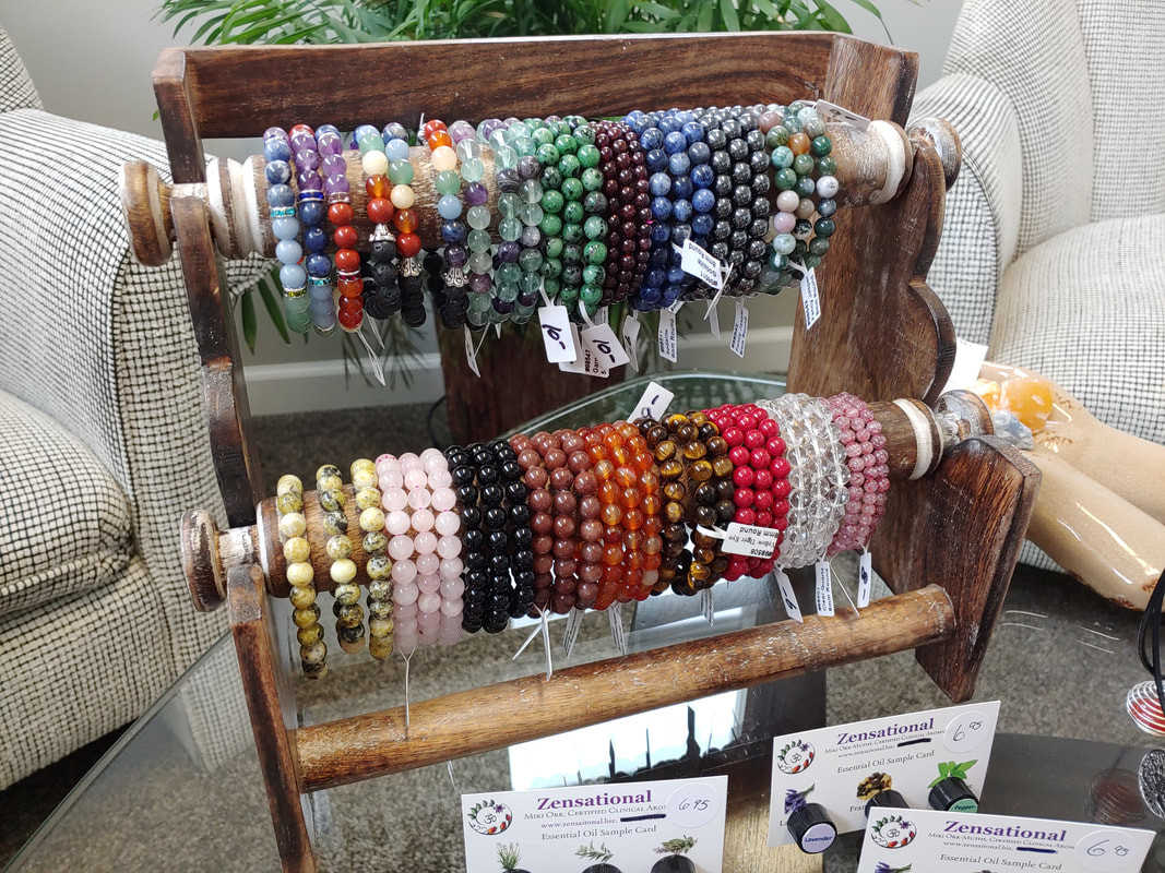 Stone braceletes