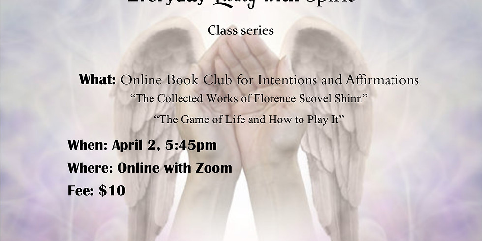 Online Book Club for Intentions and Affirmations
