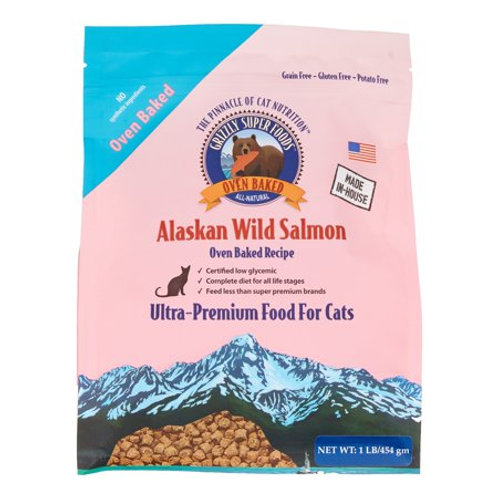 Grizzly Super Food for Cats, 1 - 3 lbs