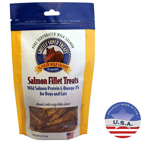 Grizzly Salmon Fillet Treats