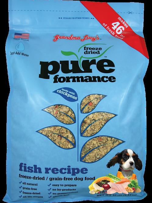 Grandma Lucy's Pureformance Grain Free Dog Food, Assorted Proteins, 1 - 10 lbs