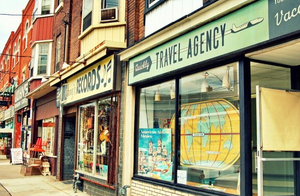 brick and mortar travel agent