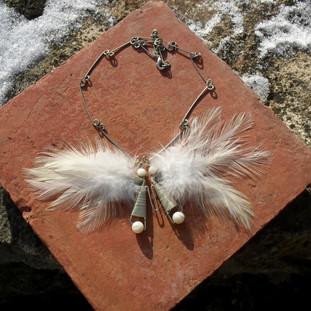 Collier papillon 40 euros