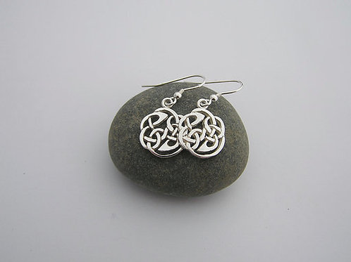 Celtic round earrings (drops)
