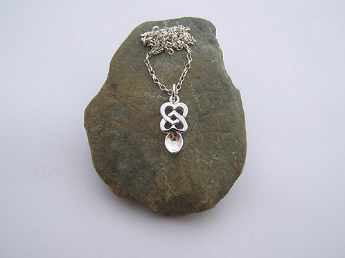 Heart lovespoon pendant (small)
