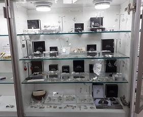 ArtWorks Aberdyfi display case Celtic Treasure jewellery
