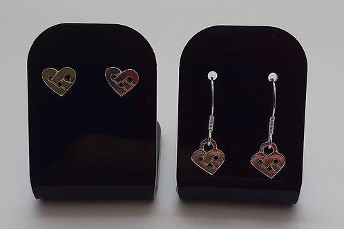 Celtic heart (small) earrings