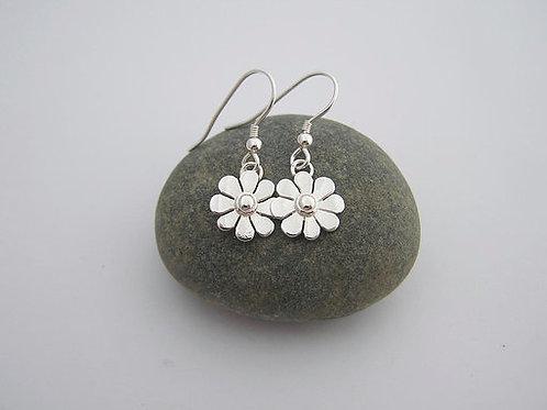 Daisy drop earrings (mirrored)