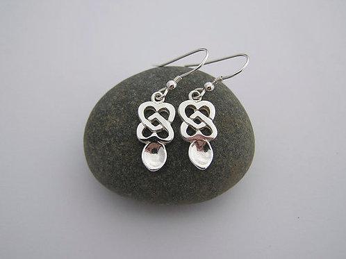Small Lovespoon drop earrings