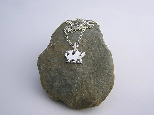 Welsh dragon pendant (small)