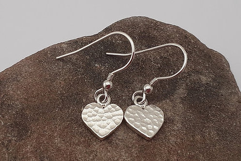 Heart earrings (small)