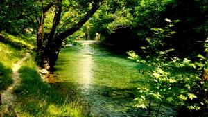 Voidomatis river trekking.