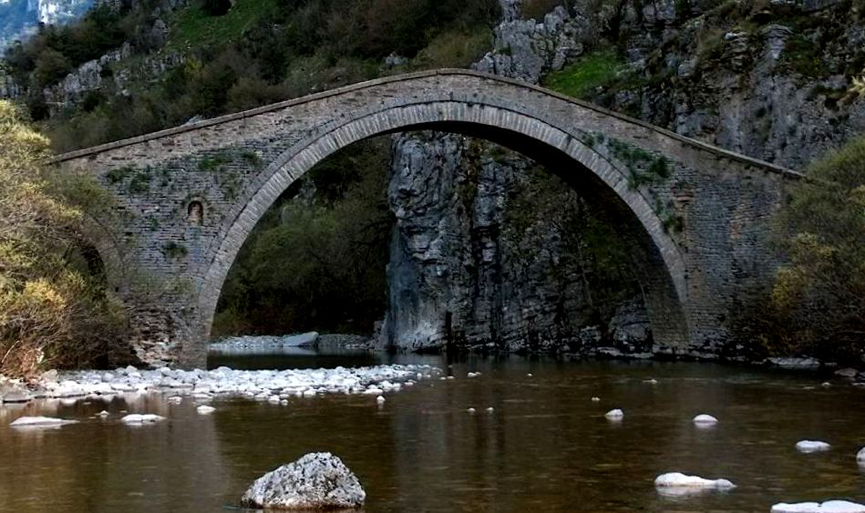 Το πέτρινο γεφύρι του Μίσιου.
