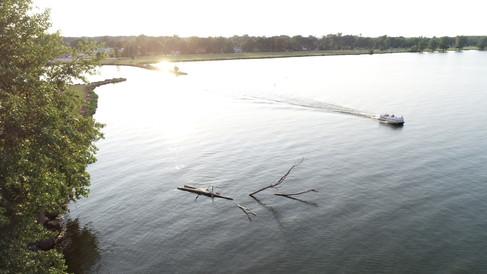 Indian Lake at Sunset