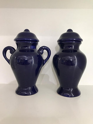 Quartinha Louça Azul Escura