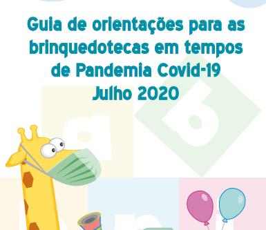 Guia de orientação para brinquedotecas em tempos de Pandemia.