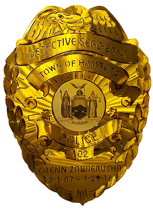 Detective Sergeant Retirement Badge