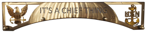 Chief Thing Eagle & Anchor Coat Rack