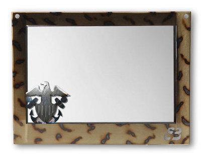 Navy Mirror