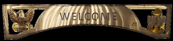 Welcome Eagle/Anchor Door Arch