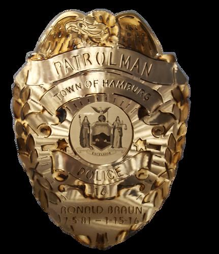 Patrolman Police Badge