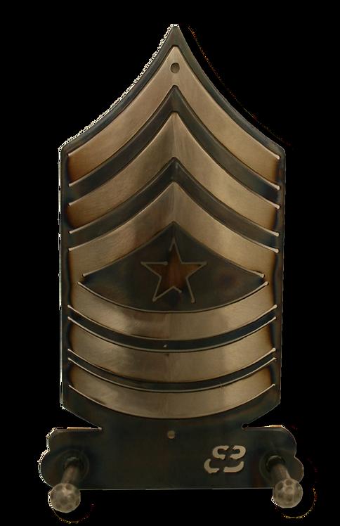 Staff Sergeant Major E-9 Two Hook