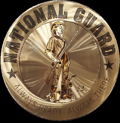 "15"" National Guard Clock"