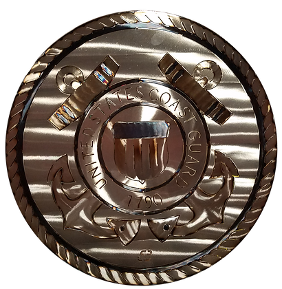 "17"" Coast Guard Medallion"