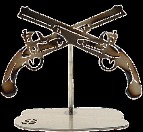 MP Crossed Pistols Replica